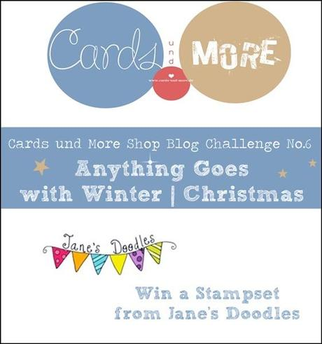 Peace and Joy | Christmas Tag | Cards und More Challenge NO.6