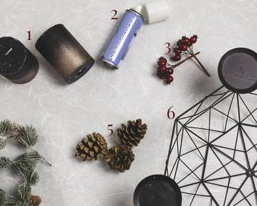 DIY: Adventskranz selber machen im Skandinavien Style