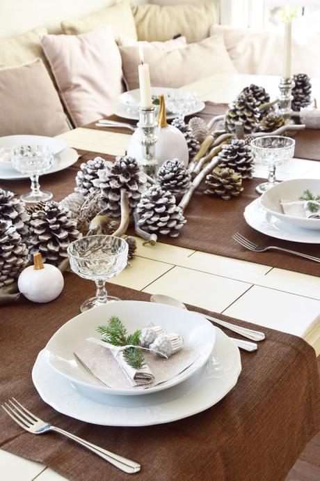 winterliche tischdeko die ihr heute sogar gewinnen k nnt. Black Bedroom Furniture Sets. Home Design Ideas