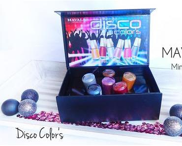 Mavala '' Disco Colors Kollektion '' - Mini Colors Nagellacke - Polychrome Effect