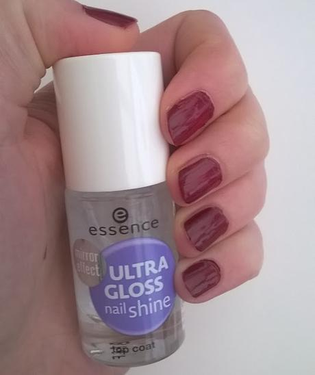 [Review] essence the gel nail polish 73 more than a feeling + essence Ultra Gloss Nail Shine Top Coat :)