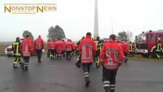 Unfall zwischen Groß Sisbeck und Querenhorst