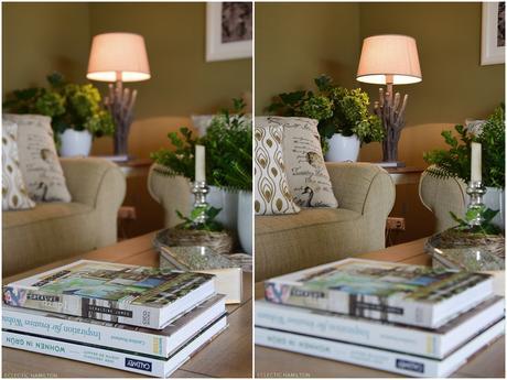 deko fur wohnzimmertisch, schnelle immergrüne deko für den wohnzimmertisch, Design ideen