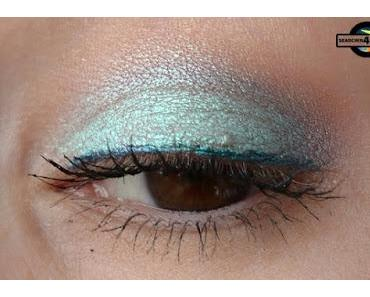 [Eyes] NYX Prismatic Shadows PS05 MERMAID mit trend IT UP ELASTIC EYE SHADOW 050