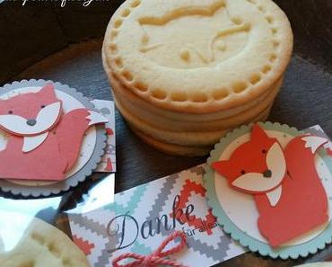 Dankeschön-Kekse zum Krippenabschied