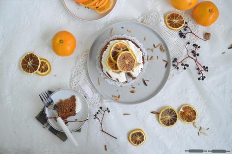 Orangen Zimt Kuchen / Cake with Oranges and Cinnamon #christmassythingsbyverena