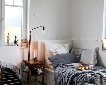 Schlafzimmer nach der Rissbeseitigung