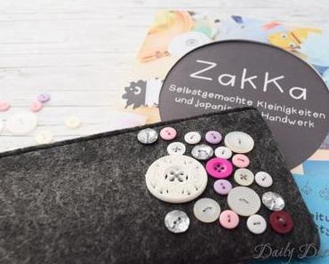 Federmäppchen mit Knöpfen – einfach Zakka! [Anzeige]