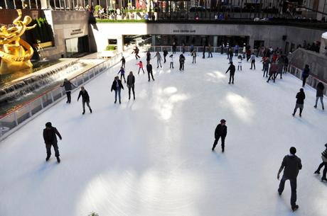 Ice Rink NYC New York City Traveling Travelling Travelblogger Travelblog
