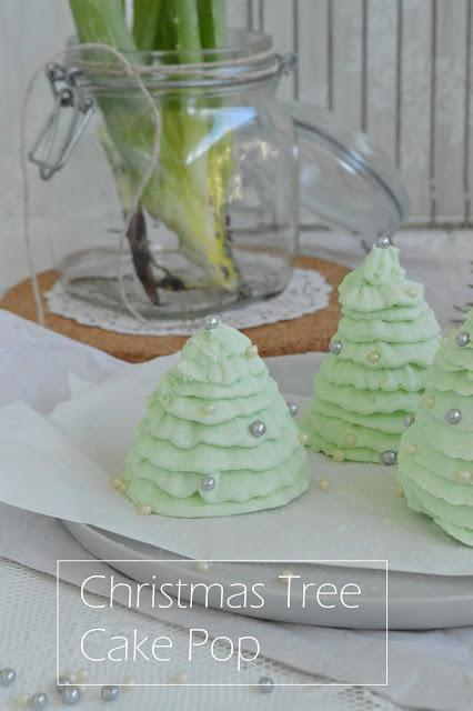 Christmas Tree Cake Pops #christmassythingsbyverena