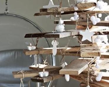 Warum nicht einen Weihnachtsbaum aus Holz? 10 Vorschläge zum nachmachen.