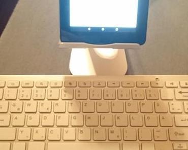 Tastatur und Tablethalterung [Produkttest]