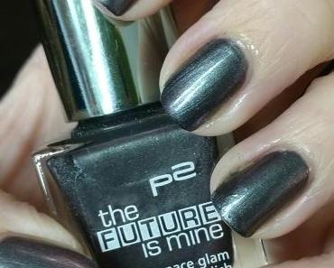 [Nails] Lacke in Farbe ... und bunt! ANTHRAZIT mit p2 the FUTURE is mine 040 solar eclipse