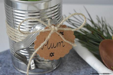 Upcycling: Namensschilder für Weihnachten basteln / Place Card Holders for Christmas