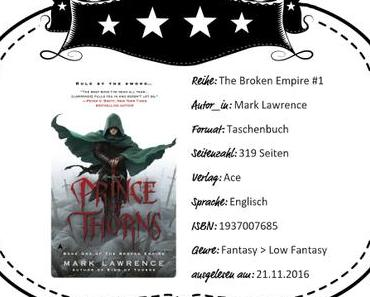 Mark Lawrence – Prince of Thorns