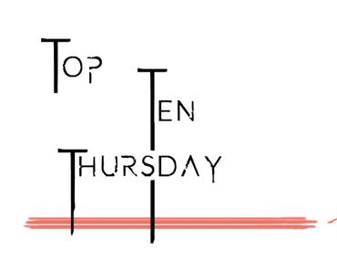 Top Ten Thursday #289