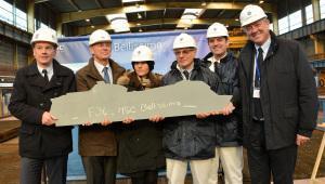 MSC Cruises und STX France feiern Stahlschnitt für MSC Bellissima in St. Nazaire