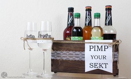 Pimp Your Sekt Sektgläser Zur Hochzeit