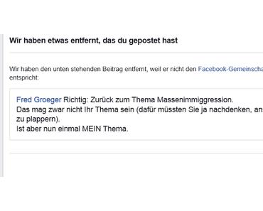 Haben die Faschos sich Facebook gekrallt?