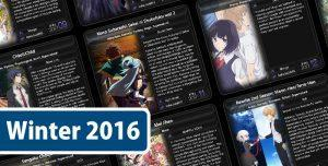 Alles zu Anime Winter-Season 2016/17