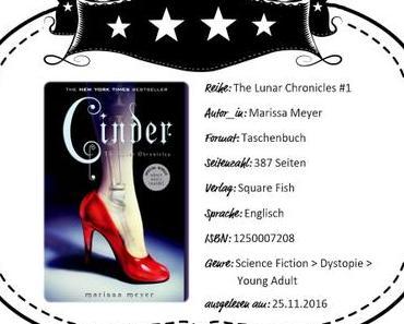 Marissa Meyer – Cinder
