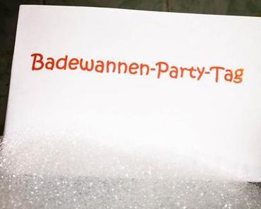 Badewannen-Party-Tag – der amerikanische Bathtub Party Day