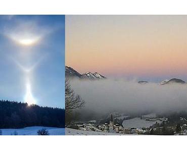 Bild der Woche: Halo (Lichteffekt) und Morgenstimmung