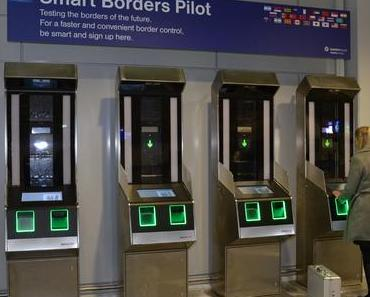 Smart Borders: Bundespolizei testet am Flughafen Frankfurt