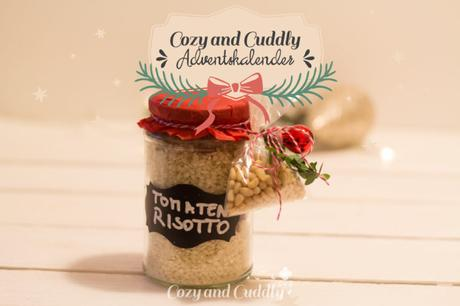 Advent:  Last-Minute Geschenk: Tomaten-Risotto im Glas - cozy and cuddly Adventskalender
