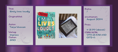 Rezension: Emily lives loudly