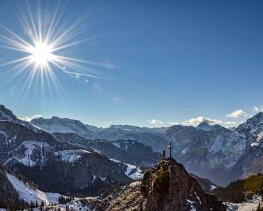 Pfaffenkogel: Wanderung mit Watzmannblick