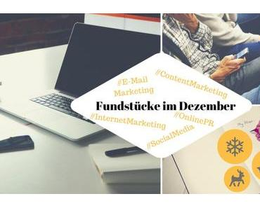 Unsere Weihnachts-Fundstücke zu Online-PR und Content Marketing – 12.12.2016