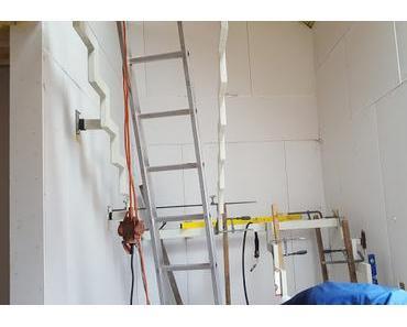 Innenausbau Teil 1 Bautreppe und Sanitärarbeiten