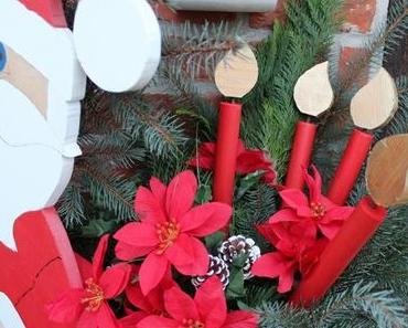 DIY Weihnachtskerzen aus Holz