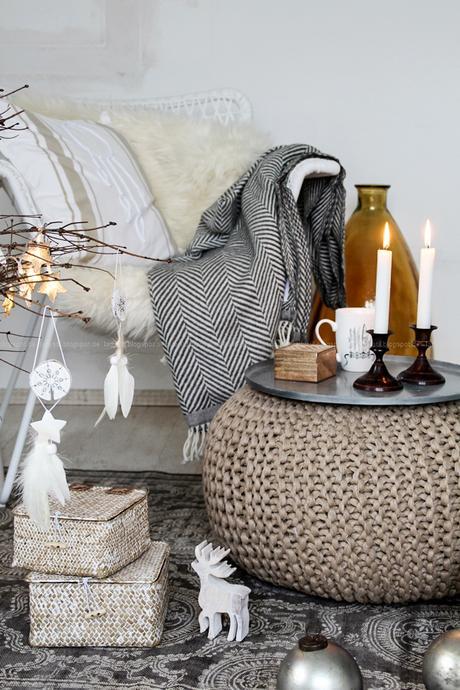 DIY Boho-Weihnachtsbaumanhänger, DekoDonnerstag