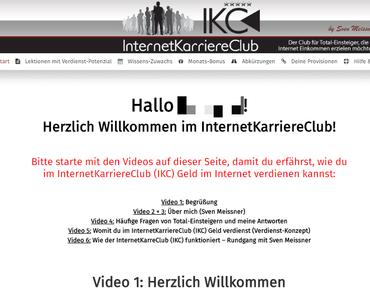 Internet Karriere Club Erfahrungen