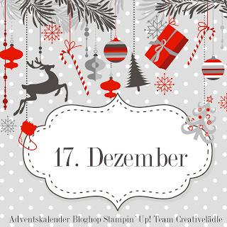 Stampin UP! Adventskalender Türchen Nr. 17