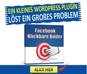 Türchen Nr. 20: WordPress Plugin Klickbare Facebook Bilder