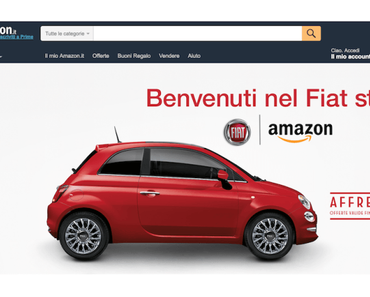 Fiat Chrysler kooperiert mit Amazon und will Autos online verkaufen