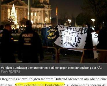 Dumm, dümmer, Links: Weniger Sicherheit für Deutschland