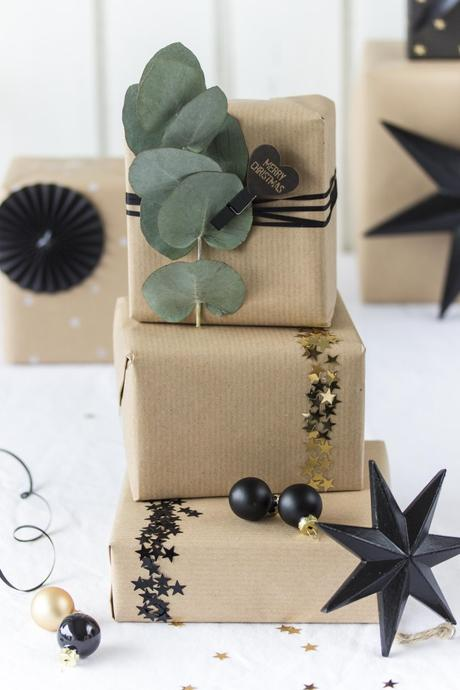 vier geschenk verpackungsideen auf den letzten dr cker. Black Bedroom Furniture Sets. Home Design Ideas