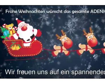 Frohe Weihnachten wünscht das gesamte ADENION-Team
