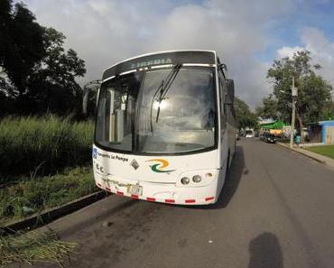 Mit lokalen Bussen von San Juan nach Liberia