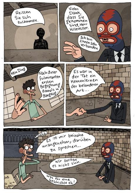 Kennenlernen comic