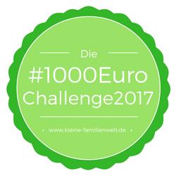 Wir starten die 1000 Euro Challenge 2017 – wer macht mit?!