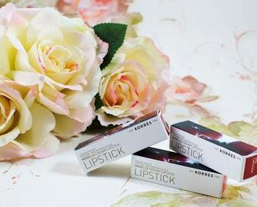 Korres //  Morello Lipsticks