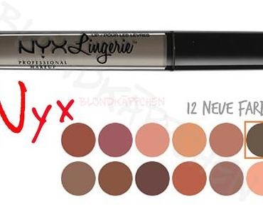 Nyx Lingerie Lipsticks - neue Farben