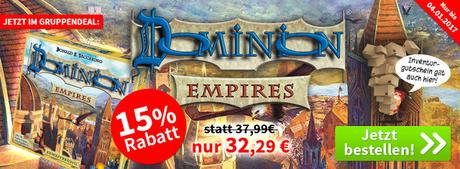 Spiele-Offensive Aktion - Gruppendeal Dominion - Empires inkl. Promo