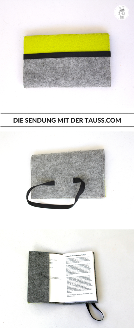 DIY Mutter-Kind-Pass Hülle