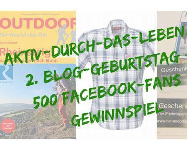 2. Blog-Geburtstag – Rückblicken, Ausblicken und Gewinnen!